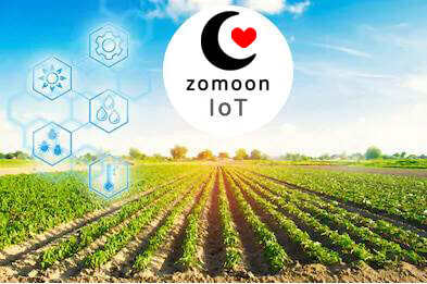 Zomoon Sheet as IoT DataBase for Different Regions